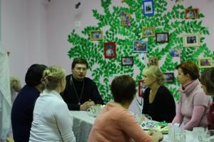 Встреча с отцом Димитрием в Пригожнице