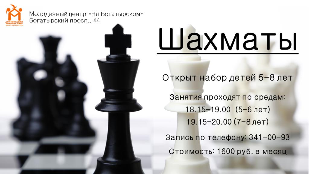 шахматы горизонт афиши